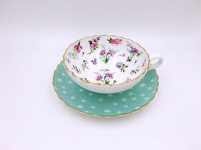 Breakfast Afternoon Tea Cup And Saucer/ Garden, Flower Pattern