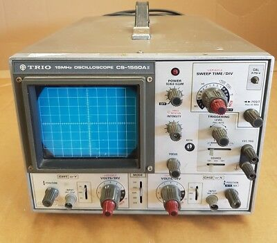 Trio CS-1560A 15MHz Oscilloscope