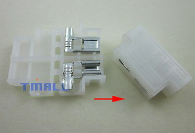 50xCar Boat Truck Middle Fuse Holder for Blade 257 ATC ATO ATN ATY ATQ 12-22#AWG