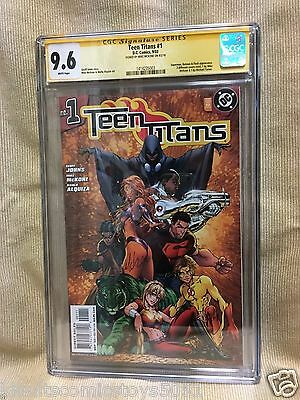 Teen Titans 1 CGC 9.6 Superboy Impulse by Michael Turner, Signed by Mike McKone