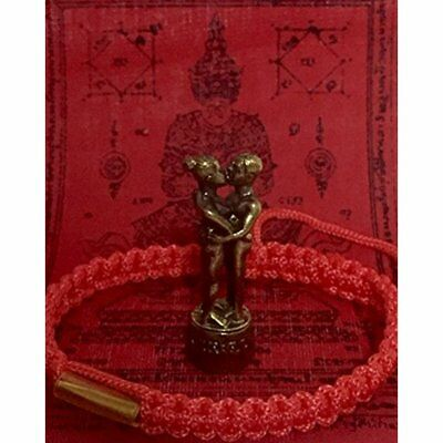 San Jewelry Thai Amulets Powerful Lucky In Lovers Forever Magic INN Koo Powerful