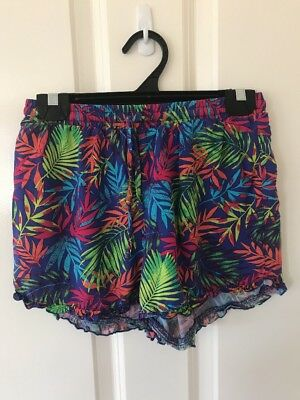 Pre-loved Older Girls Sz 12 Colourful Summer Shorts By Target