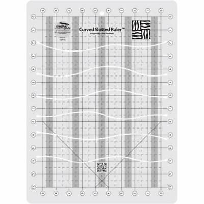 Creative Grids Curved Slotted 11in x 15in Ruler Template