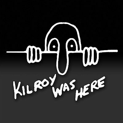KILROY WAS HERE. WWII icon, Military Marines Army America Vinyl Sticker Decal