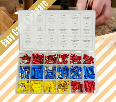 280 pcs Female Male Wire Terminal Assortment Insulated Electrical Set Connector