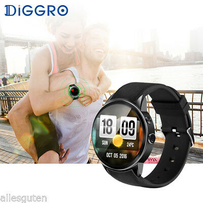 Diggro DI01 Smart Watch IP67 Android 3G WIFI Heart Rate Monitor for Android IOS