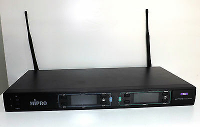 MIPRO ACT-707D 7D UHF Dual Channel True Diversity Wireless Receiver