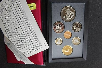 Canada 1990 Proof Double Dollar Set ***7 Coins***