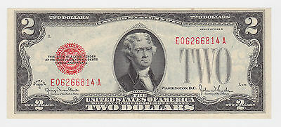 USA Bank note Rare - UNC - 'Series of 1928' G $2 bill