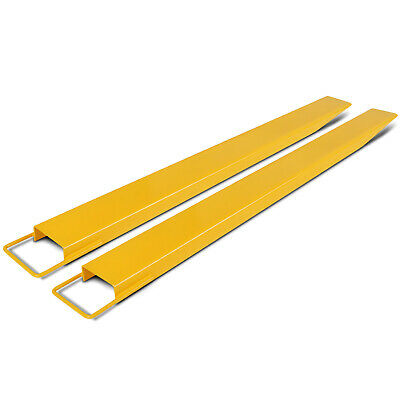 1525X140mm Forklift Pallet Fork Extension Pair Fork Thickness Strength Retaining
