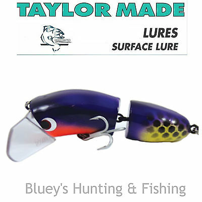 Taylor Made Cod-Walloper surface Lure articulated Lure;CLOWN New