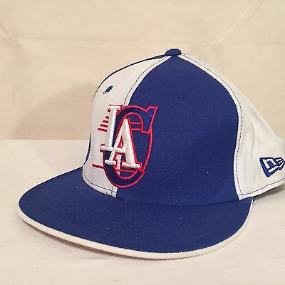 """NBA Los Angeles Clippers LOGO 7 7/8""""(63 cm) 59FIFTY WOOL Fitted Cap by New Era"""