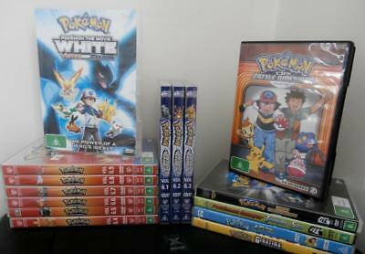 Pokemon Dvd Collection.  17 DVD's, Movies & Series