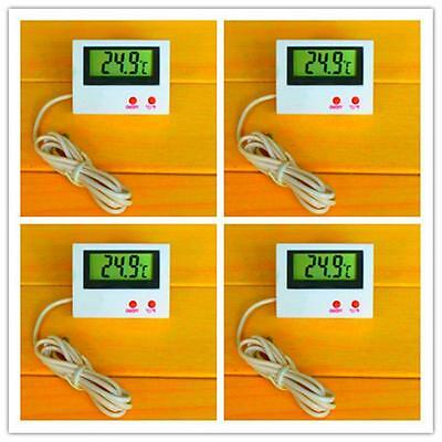 New Digital LCD Fish Tank Thermometer Aquarium Probe Water Temperature MonitorB*