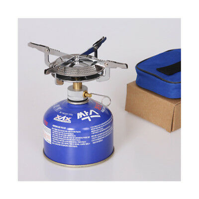 Outdoor Picnic Camping Hiking Gas Burner Mini Stove Head Stainless Steel 1767
