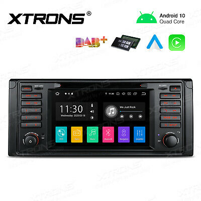"Android 7.1 Car DVD Stereo 1 DIN 7"" UI Radio GPS OBD2 DAB+ fit BMW E39 M5 E38"