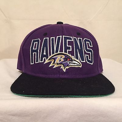 NFL Baltimore Ravens Vintage Collection Wool Snapback by Mitchell & Ness
