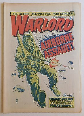 WARLORD Comic #91 - 19th June 1976