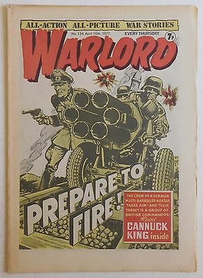 WARLORD Comic #134 - 16th April 1977