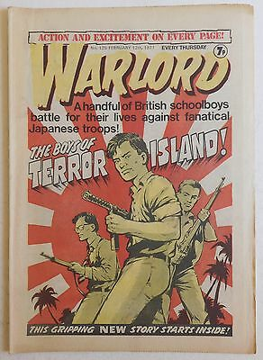 WARLORD Comic #125 - 12th February 1977