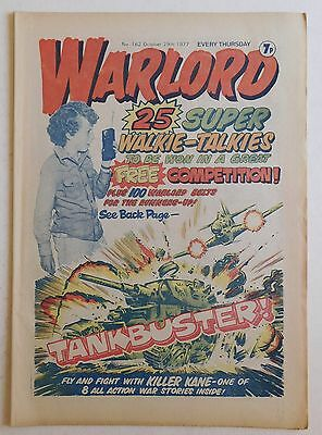 WARLORD Comic #162 - 29th October 1977