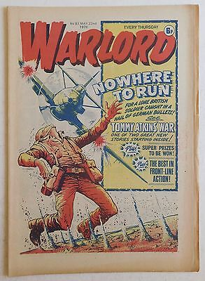 WARLORD Comic #87 - 22nd May 1976