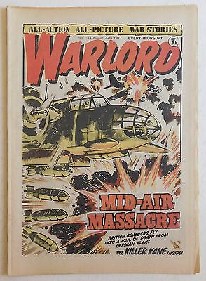 WARLORD Comic #153 - 27th August 1977