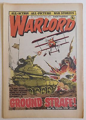 WARLORD Comic #170 - 24th December 1977