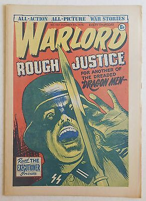 WARLORD Comic #107 - 9th October 1976