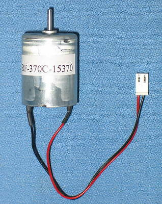 RF-370C-15370 12V DC Motor with 2-pin Power Connector - NEW