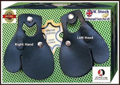 Genuine Leather Archery Finger Tab RH & LH Archery Finger Protections 3 Layers