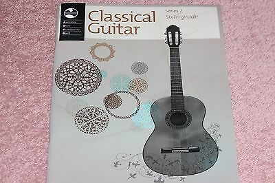 AMEB Classical Guitar Series 2 Sixth Grade Sheet Music Book