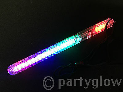 100 Flashing Light Stick LED Glow Stick Wand LED Baton Top Quality - ANTI CHOKE