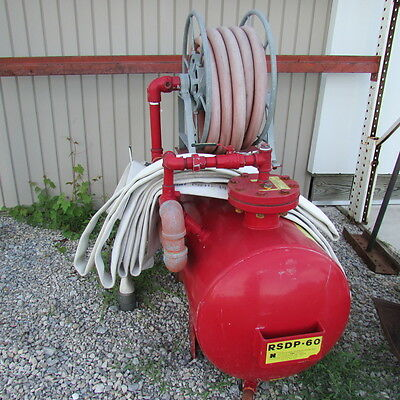 National Foam System RSDP-60  Proportioner Tank-Hose-Reel &Hose Fire suppression