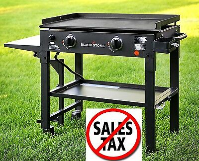 Flat Top Grill Portable Gas Barbecue Griddle Outdoor Restaurant BBQ Backyard 1d