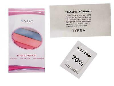 Tear Aid 6 x 3 Type A Fabric, Rubber, Canvas Repair Patch Kit