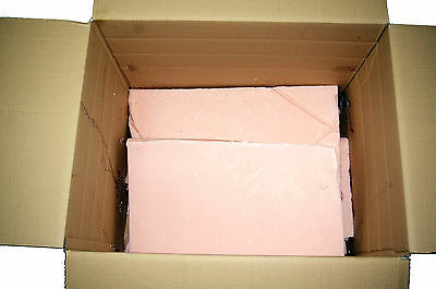 Candle Wax 25kg of pink Out of Spec (Scrap) wax