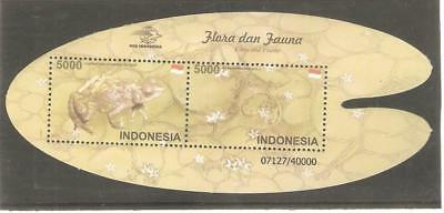 2013  Indonesia - Waterlilly & Firetoad - Sg Ms3468