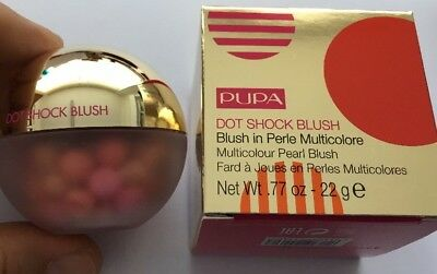 PUPA DOT SHOCK BLUSH Blush In Perle Multicolore 001 Dot Shock Blush