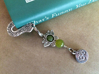 NEW Lotus and Om Mini Bookmark from Between the Pages
