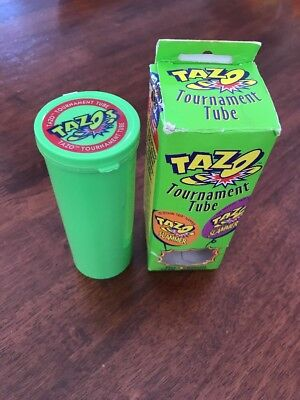 Tazo Tournament Tube With Original Packaging And X2 Slammers 1995