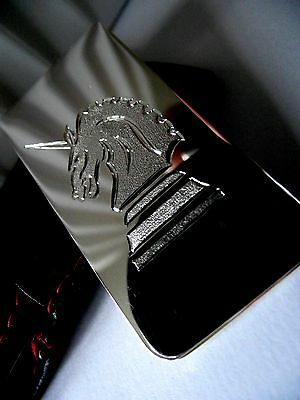 Sterling Silver Heavy Money Clip Hand Engraved With Your Crest/Symbol/Logo etc.