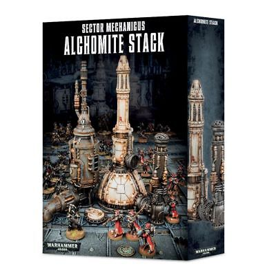 Sector Mechanicus Alchomite Stack Games Workshop Gelände Terrain Dom Pipeline