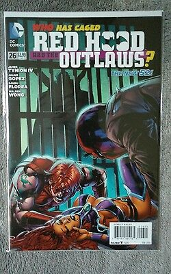 Red Hood and the Outlaws # 26  NM DC New 52