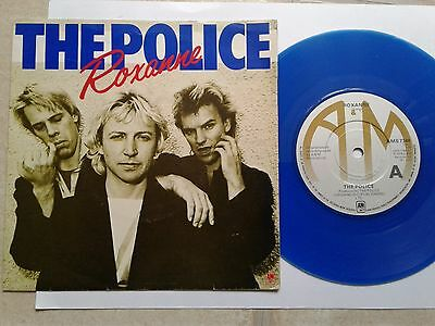 The Police Roxanne 1979 Uk Press 7 Quot Vinyl Record Single