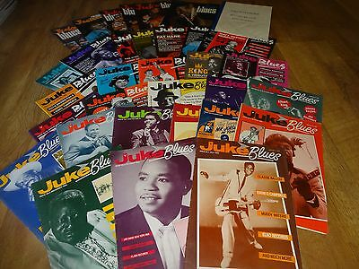 33 Editions of Juke Blues magazine issues 1-33 inclusive plus record review
