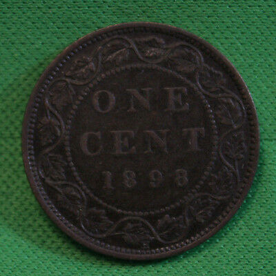 1898H Canada Large cent VF