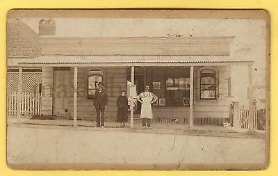 CDV Antique photo W. Mc Guire Savage Plume Brisbane Australia New Zealand RARE