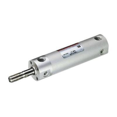 1 x SMC Double Action Pneumatic Roundline Cylinder, CDG1BN32-75