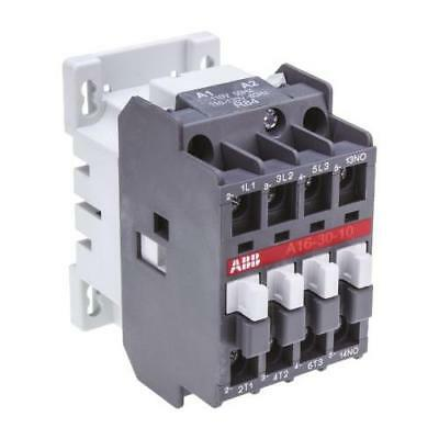 1 x Abb A Line A16 3 Pole Contactor 1SBL181001R8410, 30A, 7.5kW, 110V Coil